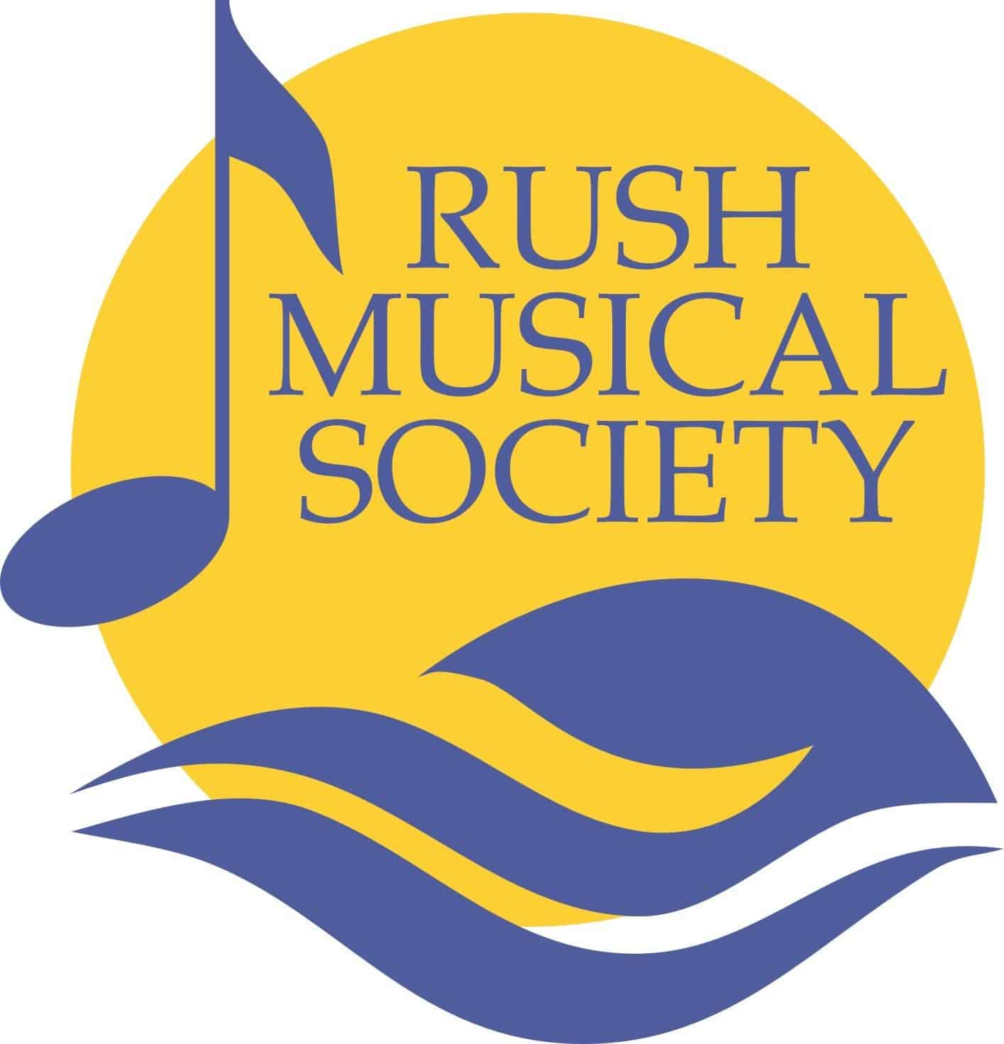 Rush Musical Society logo