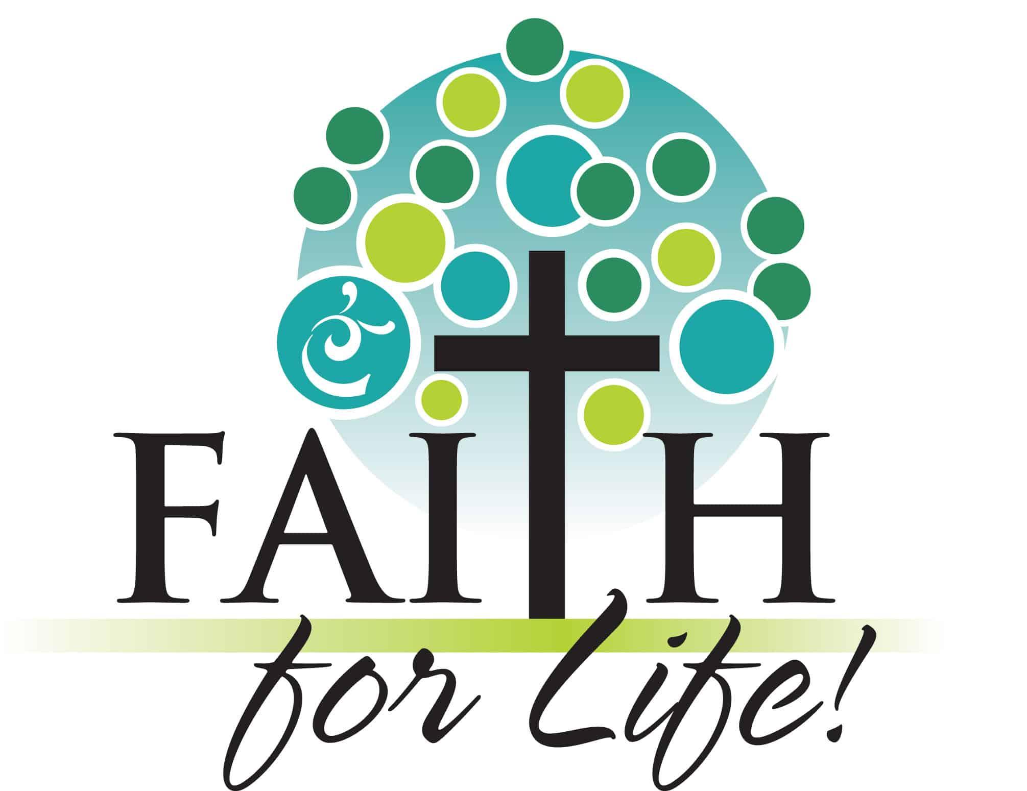 faith for life logo with snail
