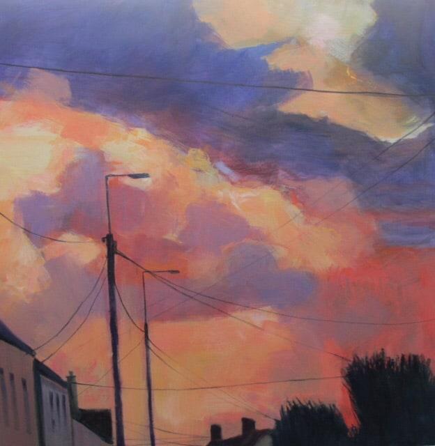 autumn sky painting jim kilgarriff